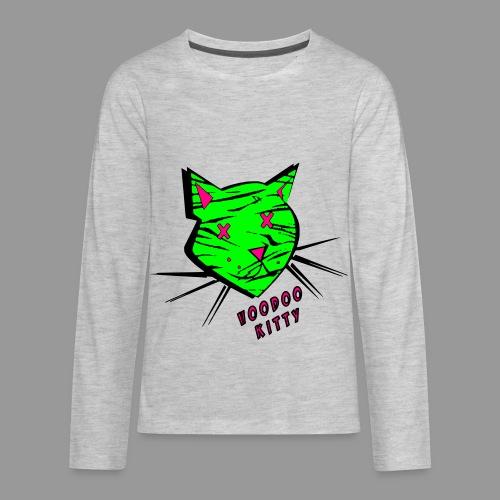 Voodoo Kitty - Kids' Premium Long Sleeve T-Shirt