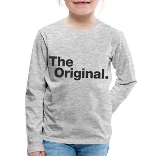 original - Kids' Premium Long Sleeve T-Shirt