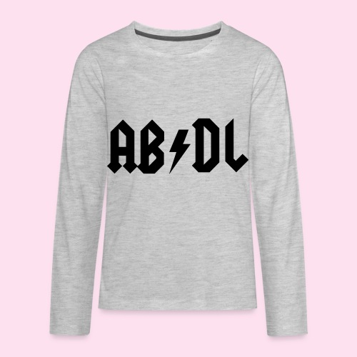 ABDL Rock - Kids' Premium Long Sleeve T-Shirt