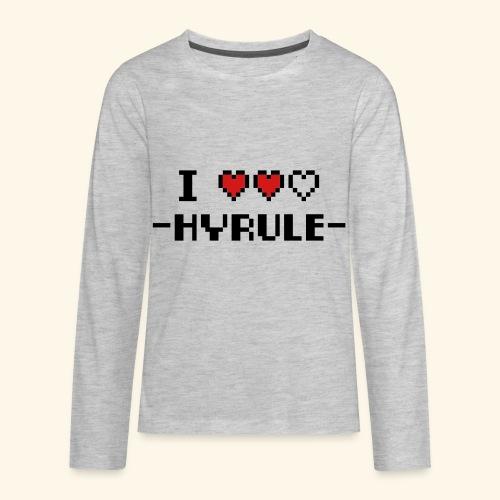 I Love Hyrule - Kids' Premium Long Sleeve T-Shirt