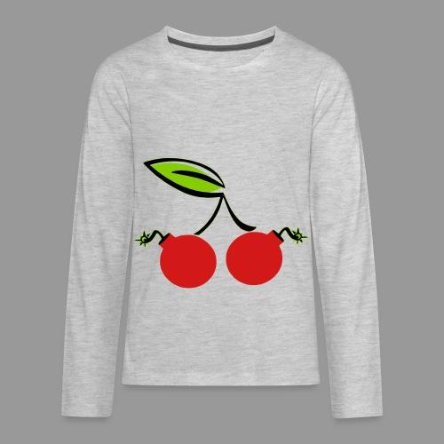 Cherry Bomb - Kids' Premium Long Sleeve T-Shirt
