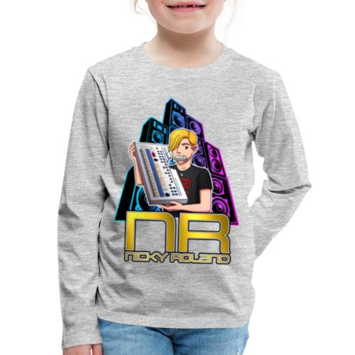 Nicky Roland - 909 - Kids' Premium Long Sleeve T-Shirt