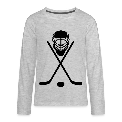 hockey - Kids' Premium Long Sleeve T-Shirt