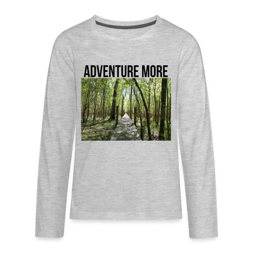 adventure more - Kids' Premium Long Sleeve T-Shirt