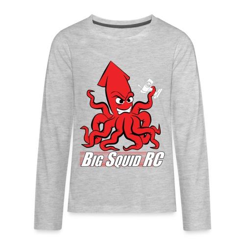 Big Squid RC - Angry Squid Edition 2 - Kids' Premium Long Sleeve T-Shirt