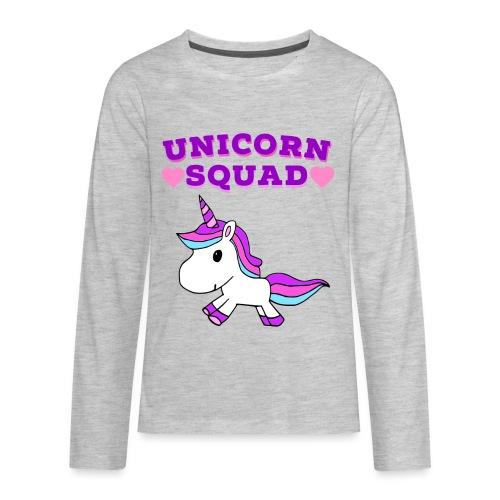 Unicorn Squad! - Kids' Premium Long Sleeve T-Shirt