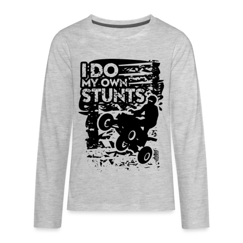 ATV Quad My Own Stunts - Kids' Premium Long Sleeve T-Shirt