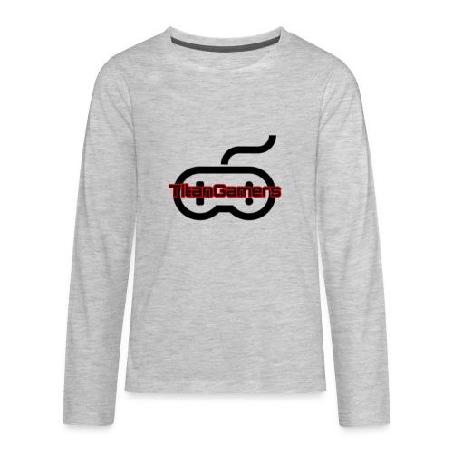 TitanGamers Logo - Kids' Premium Long Sleeve T-Shirt