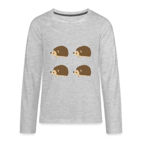 4up Hedgehogs - Kids' Premium Long Sleeve T-Shirt