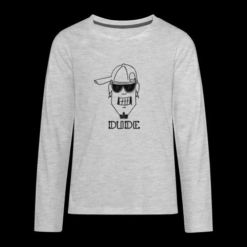 Dude Head 2 - Kids' Premium Long Sleeve T-Shirt