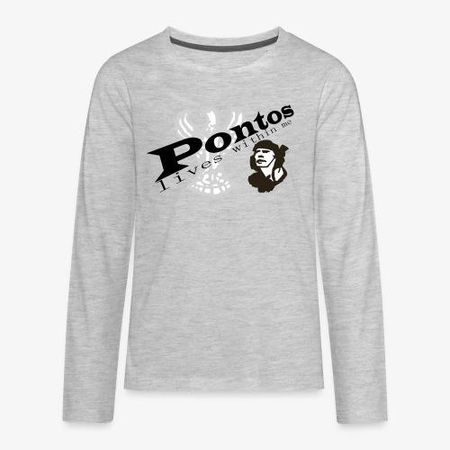 Pontos lives within me. - Kids' Premium Long Sleeve T-Shirt