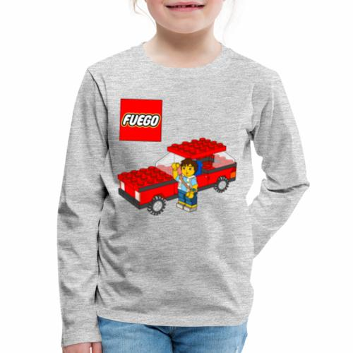 fuego - Kids' Premium Long Sleeve T-Shirt