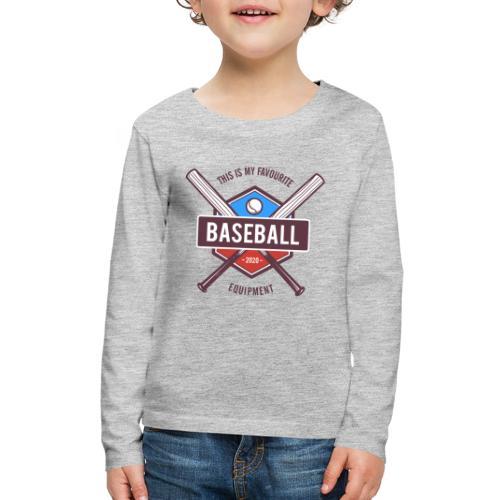 baseball - Kids' Premium Long Sleeve T-Shirt