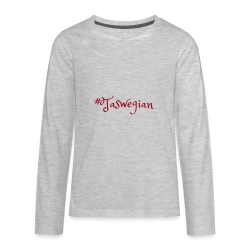 Taswegian Red - Kids' Premium Long Sleeve T-Shirt