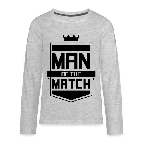 Man of the Match - Kids' Premium Long Sleeve T-Shirt