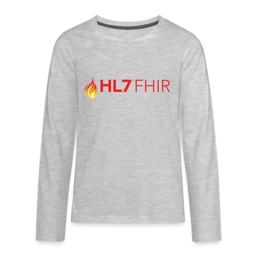 HL7 FHIR Logo - Kids' Premium Long Sleeve T-Shirt
