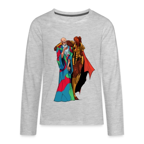 anjelicaPRO png - Kids' Premium Long Sleeve T-Shirt