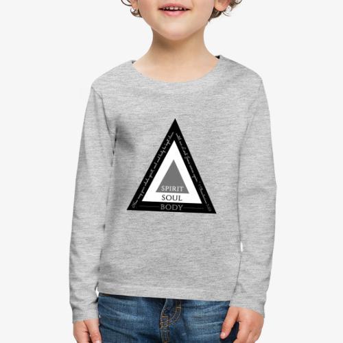 Spirit Soul Body - Kids' Premium Long Sleeve T-Shirt