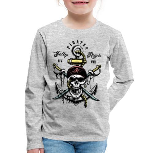 pirates - Kids' Premium Long Sleeve T-Shirt