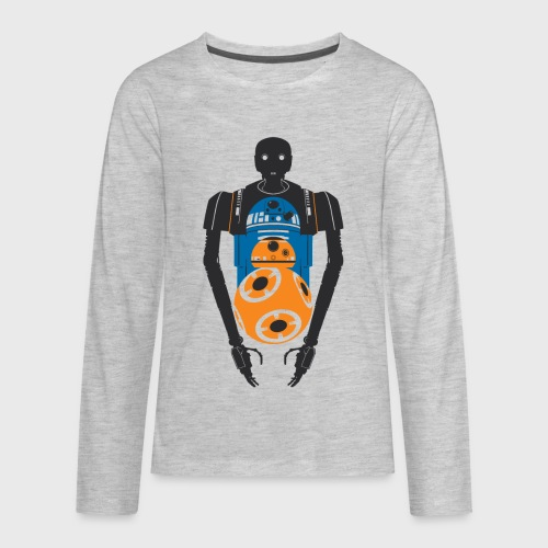 Star Wars Rogue One The Droids You're Looking For - Kids' Premium Long Sleeve T-Shirt