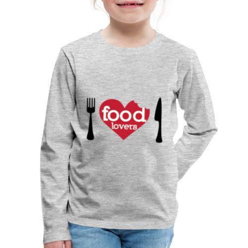 FOOD LOVERS - Kids' Premium Long Sleeve T-Shirt