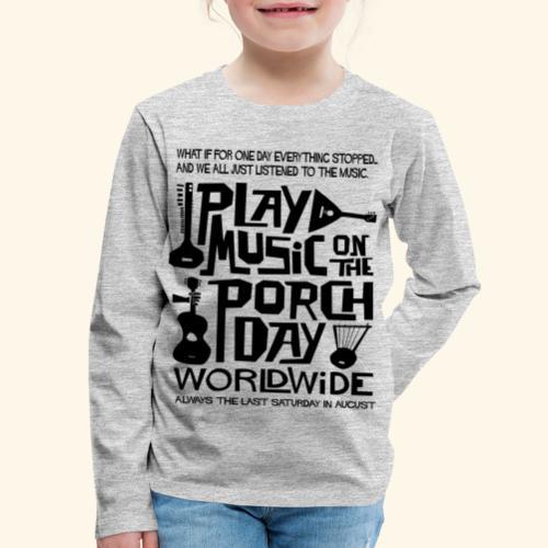 PMOTPD2021 SHIRT - Kids' Premium Long Sleeve T-Shirt