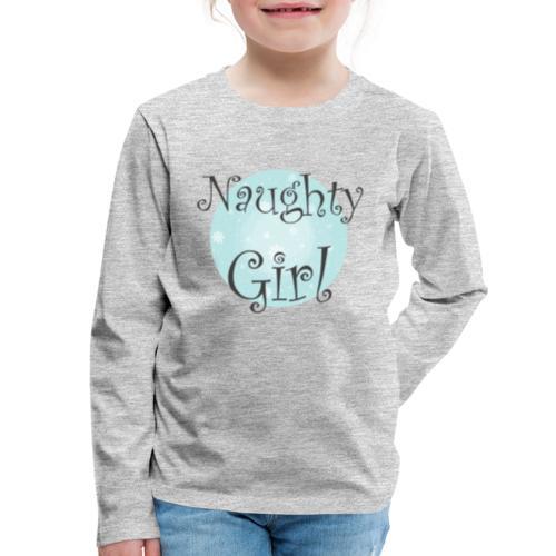 Naughty Girl 01 - Kids' Premium Long Sleeve T-Shirt