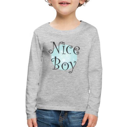 Nice Boy - Kids' Premium Long Sleeve T-Shirt