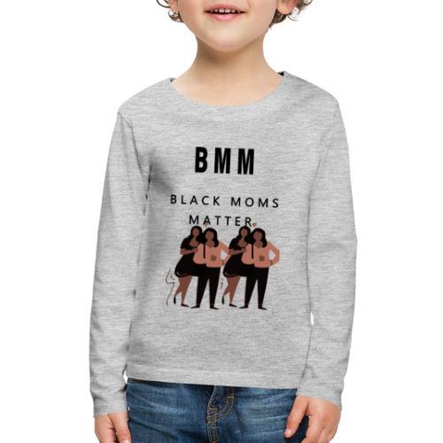 BMM 2 brown - Kids' Premium Long Sleeve T-Shirt