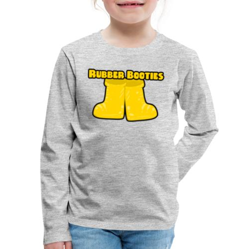 Rubber Booties Large - Kids' Premium Long Sleeve T-Shirt