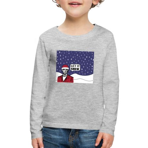 Let It Snow - Kids' Premium Long Sleeve T-Shirt