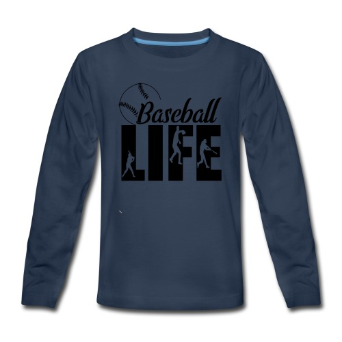 Baseball life - Kids' Premium Long Sleeve T-Shirt
