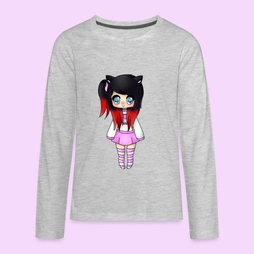 Chibi Wolfie - Kids' Premium Long Sleeve T-Shirt