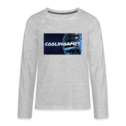 coolxvgames21 - Kids' Premium Long Sleeve T-Shirt