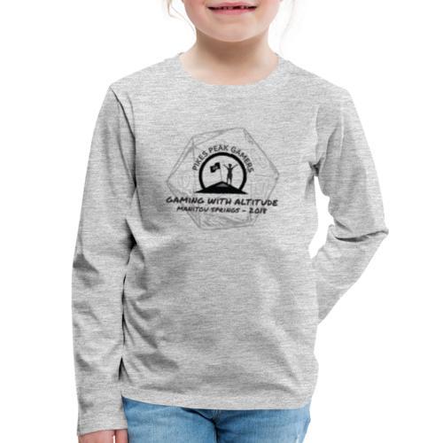 Pikes Peak Gamers Convention 2018 - Clothing - Kids' Premium Long Sleeve T-Shirt