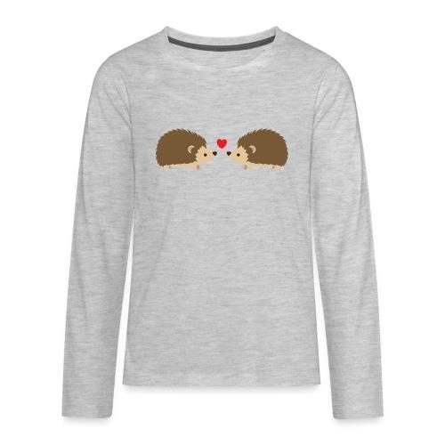Hedgehog Lovers - Kids' Premium Long Sleeve T-Shirt