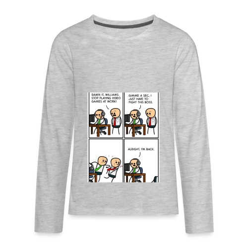 Test - Kids' Premium Long Sleeve T-Shirt