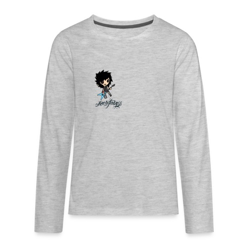 axelofabyss self portrait - Kids' Premium Long Sleeve T-Shirt