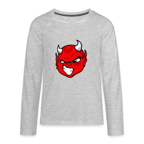 Rebelleart devil - Kids' Premium Long Sleeve T-Shirt