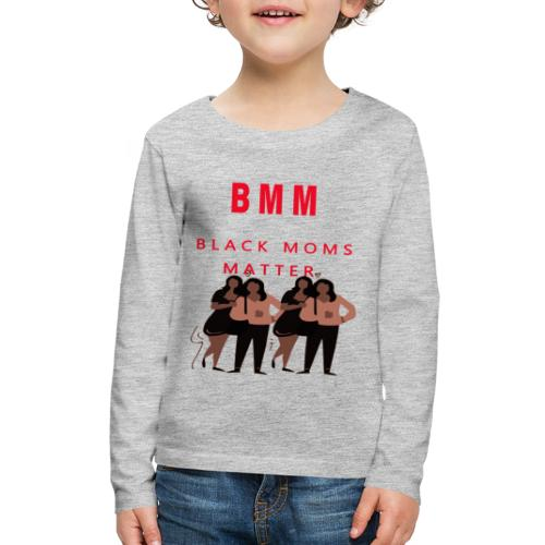 BMM 2 Brown red - Kids' Premium Long Sleeve T-Shirt