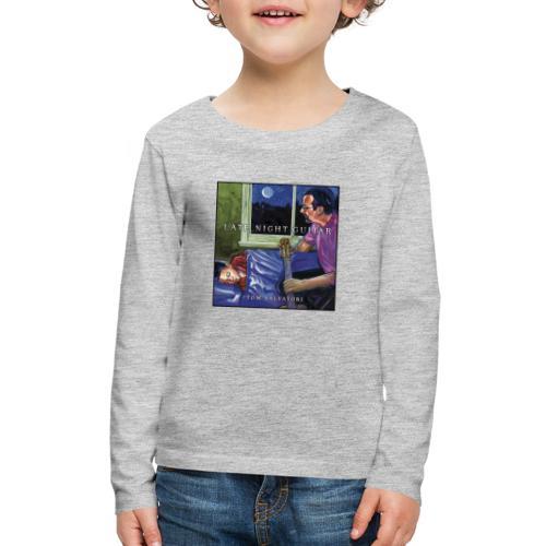Cover Late Night Guitar - Kids' Premium Long Sleeve T-Shirt