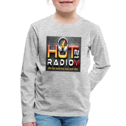 Hot 21 Radio - Kids' Premium Long Sleeve T-Shirt