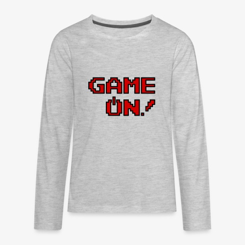 Game On.png - Kids' Premium Long Sleeve T-Shirt