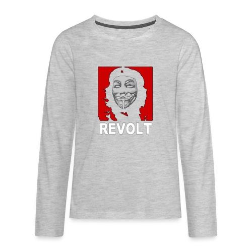 Anonymous Che Revolt Mugs & Drinkware - Kids' Premium Long Sleeve T-Shirt