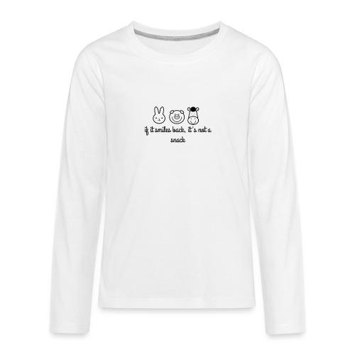 SMILE BACK - Kids' Premium Long Sleeve T-Shirt