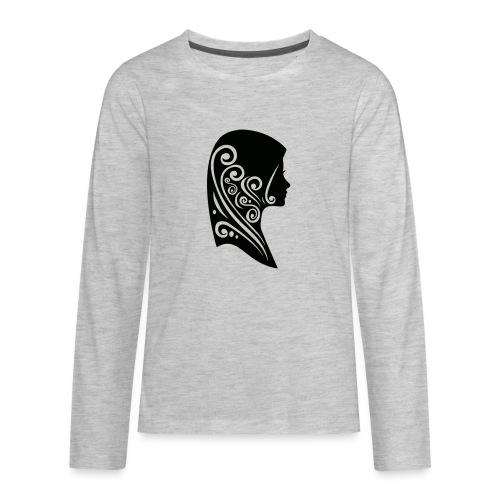 muslimah - Kids' Premium Long Sleeve T-Shirt