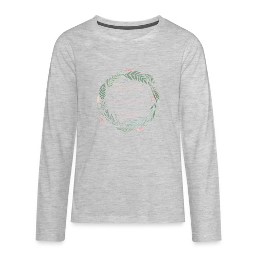 LOD Flower Wreath 1 - Kids' Premium Long Sleeve T-Shirt
