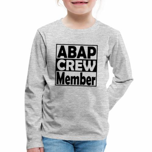 ABAPcrew - Kids' Premium Long Sleeve T-Shirt