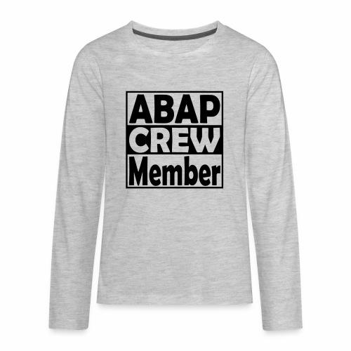 ABAPcrew - Kids' Premium Long Sleeve T-Shirt