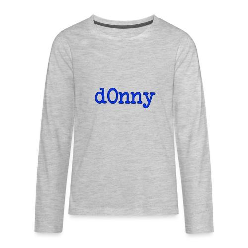 d0nny - Kids' Premium Long Sleeve T-Shirt